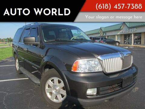 2005 Lincoln Navigator for sale at Auto World in Carbondale IL