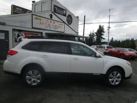 2010 Subaru Outback for sale at G&R Auto Sales in Lynnwood WA