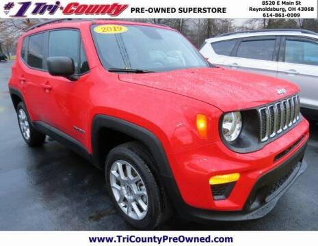 2019 Jeep Renegade for sale at Tri-County Pre-Owned Superstore in Reynoldsburg OH