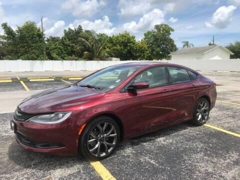 2015 Chrysler 200 for sale at Guru Auto Sales in Miramar FL