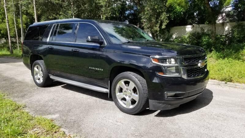 2015 Chevrolet Suburban for sale at DELRAY AUTO MALL in Delray Beach FL