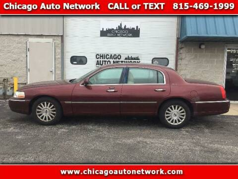2004 Lincoln Town Car for sale at Chicago Auto Network in Mokena IL
