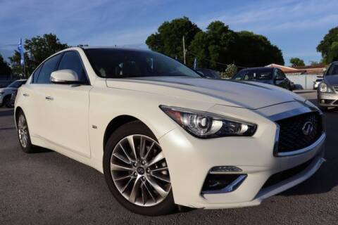 2019 Infiniti Q50 for sale at OCEAN AUTO SALES in Miami FL