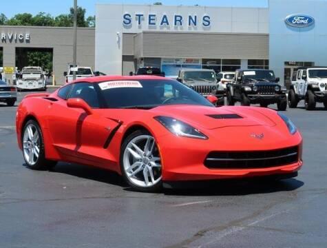 2019 Chevrolet Corvette for sale at Stearns Ford in Burlington NC