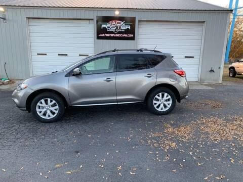 2012 Nissan Murano for sale at Jack Foster Used Cars LLC in Honea Path SC