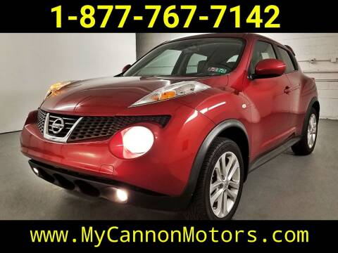 2011 Nissan JUKE for sale at Cannon Motors in Silverdale PA