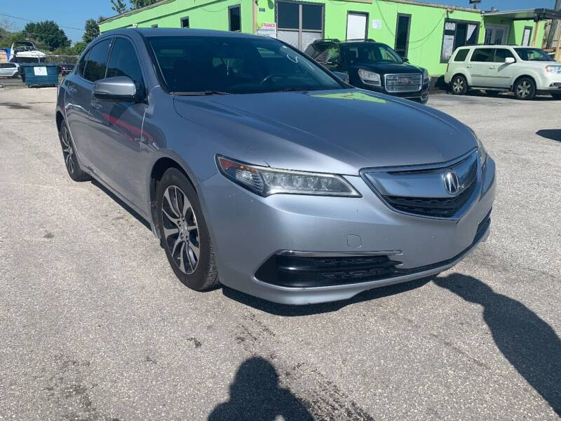 2016 Acura TLX for sale at Marvin Motors in Kissimmee FL