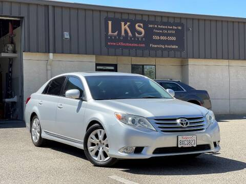 2012 Toyota Avalon for sale at LKS Auto Sales in Fresno CA