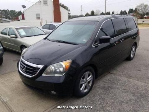 2010 Honda Odyssey for sale at Matt Hagen Motors in Newport NC