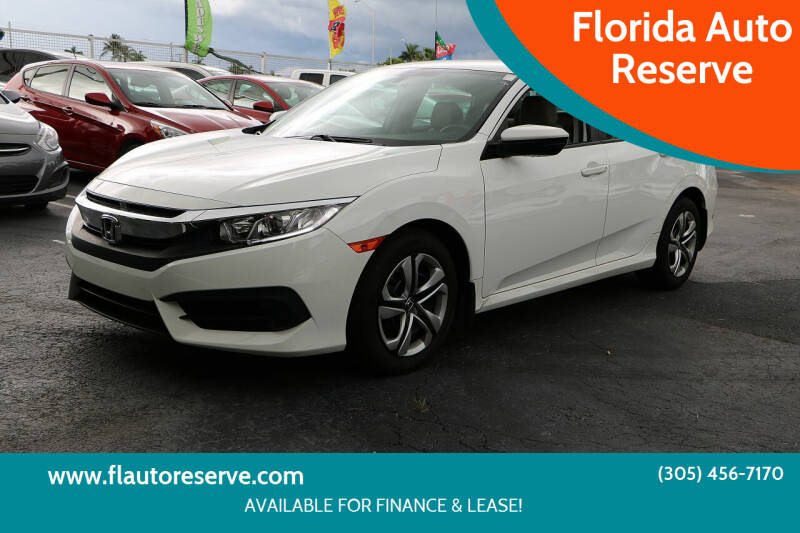 2016 Honda Civic for sale at Florida Auto Reserve in Medley FL