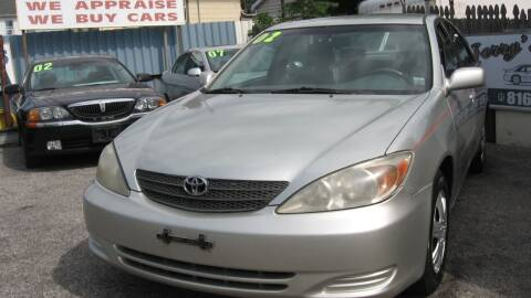 2002 Toyota Camry for sale at JERRY'S AUTO SALES in Staten Island NY
