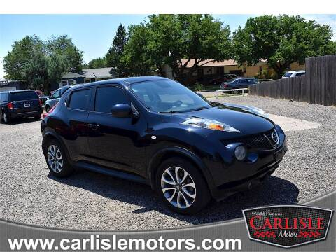 2013 Nissan JUKE for sale at Carlisle Motors in Lubbock TX
