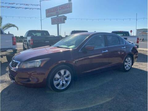 2008 Honda Accord for sale at Dealers Choice Inc in Farmersville CA