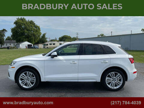 2019 Audi Q5 for sale at BRADBURY AUTO SALES in Gibson City IL