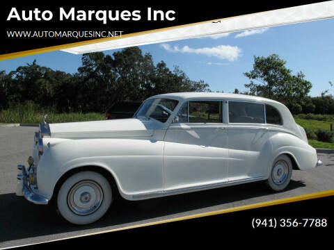 1956 Rolls-Royce Silver Wraith for sale at Auto Marques Inc in Sarasota FL