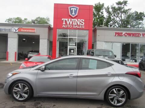 2015 Hyundai Elantra for sale at Twins Auto Sales Inc in Detroit MI