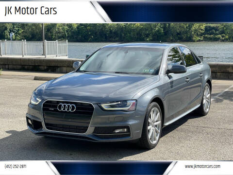 2015 Audi A4 for sale at JK Motor Cars in Pittsburgh PA