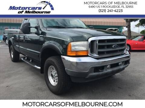 2001 Ford F-250 Super Duty for sale at Motorcars of Melbourne in Rockledge FL