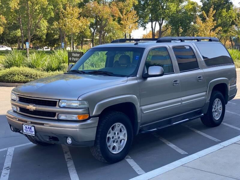 2003 Chevrolet Suburban for sale at KAS Auto Sales in Sacramento CA