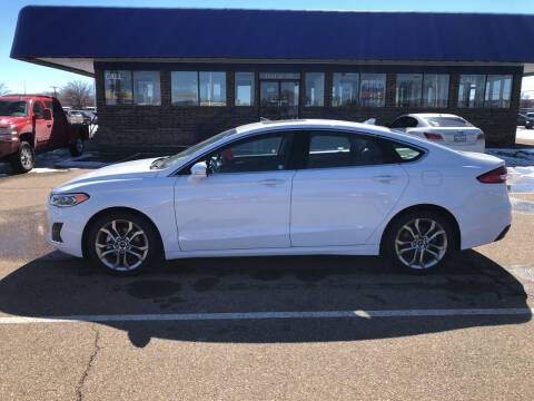 2019 Ford Fusion for sale at BUDGET CAR SALES in Amarillo TX