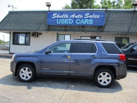 2013 GMC Terrain for sale at SHULTS AUTO SALES INC. in Crystal Lake IL