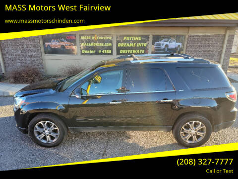 2014 GMC Acadia for sale at M.A.S.S. Motors - West Fairview in Boise ID