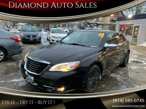 2011 Chrysler 200 for sale at Diamond Auto Sales in Milwaukee WI