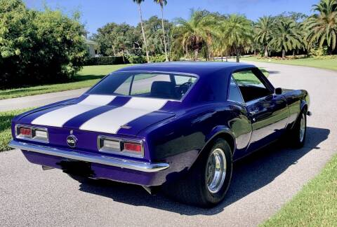 1968 Chevrolet CAMARO SS for sale at Suncoast Sports Cars and Exotics in West Palm Beach FL