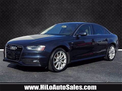 2014 Audi A4 for sale at Hi-Lo Auto Sales in Frederick MD