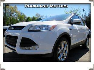 2015 Ford Escape for sale at Rockland Automall - Rockland Motors in West Nyack NY