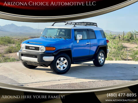 2007 Toyota FJ Cruiser for sale at Arizona Choice Automotive LLC in Mesa AZ