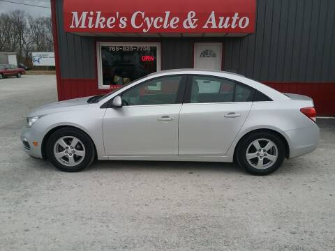 2016 Chevrolet Cruze Limited for sale at MIKE'S CYCLE & AUTO in Connersville IN