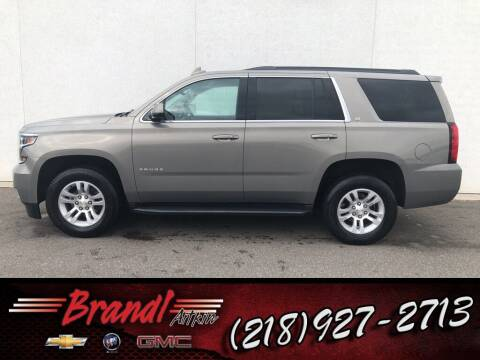 2018 Chevrolet Tahoe for sale at Brandl GM in Aitkin MN