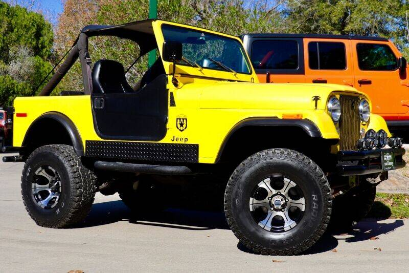 1979 Jeep CJ-7 for sale at SELECT JEEPS INC in League City TX
