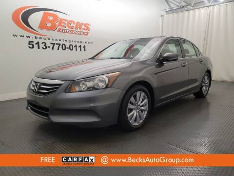 2011 Honda Accord for sale at Becks Auto Group in Mason OH