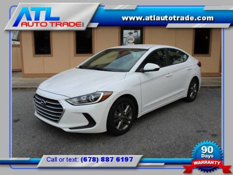 2017 Hyundai Elantra for sale at ATL Auto Trade, Inc. in Stone Mountain GA