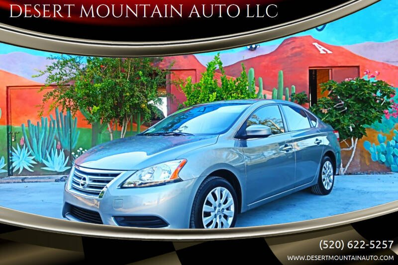 2013 Nissan Sentra for sale at DESERT MOUNTAIN AUTO LLC in Tucson AZ