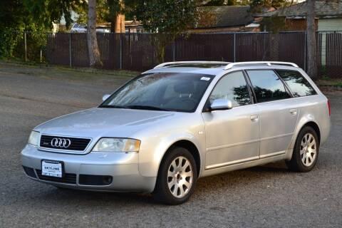 2001 Audi Allroad for sale at Skyline Motors Auto Sales in Tacoma WA