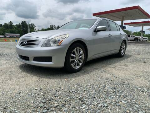 2009 Infiniti G37 Sedan for sale at Charlie's Used Cars in Thomasville NC
