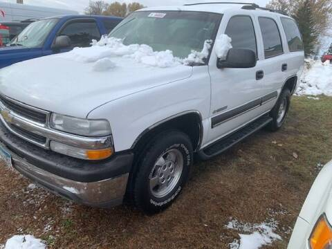 2003 Chevrolet Tahoe for sale at Four Boys Motorsports in Wadena MN