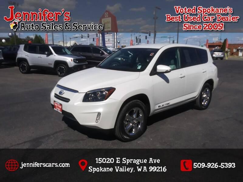 2012 Toyota RAV4 EV for sale at Jennifer's Auto Sales in Spokane Valley WA