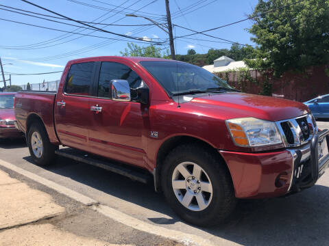 2004 Nissan Titan for sale at Deleon Mich Auto Sales in Yonkers NY