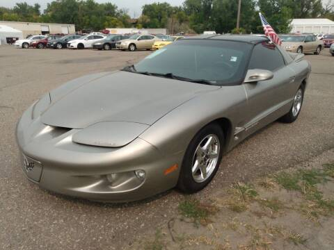 2001 Pontiac Firebird for sale at L & J Motors in Mandan ND