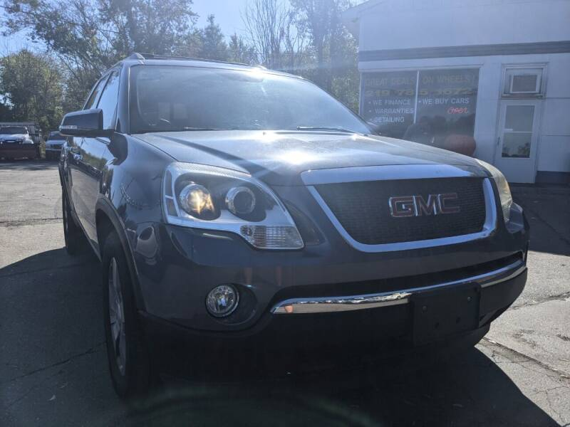 2012 GMC Acadia for sale at GREAT DEALS ON WHEELS in Michigan City IN