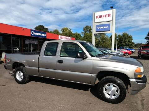 2002 GMC Sierra 1500 for sale at Kiefer Nissan Budget Lot in Albany OR