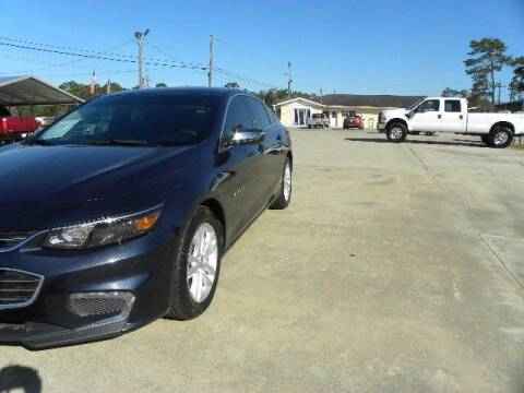 2016 Chevrolet Malibu for sale at VANN'S AUTO MART in Jesup GA