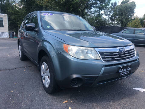 2010 Subaru Forester for sale at PARK AVENUE AUTOS in Collingswood NJ