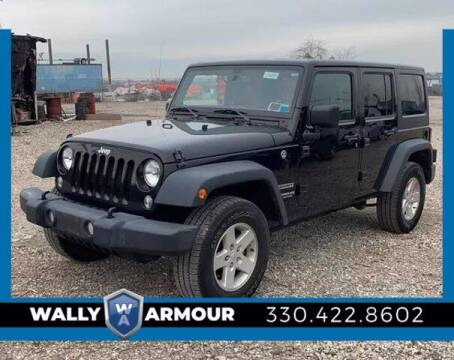 2017 Jeep Wrangler Unlimited for sale at Wally Armour Chrysler Dodge Jeep Ram in Alliance OH