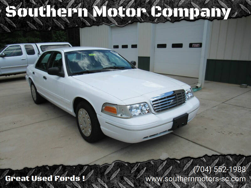 2003 Ford Crown Victoria for sale at Southern Motor Company in Lancaster SC