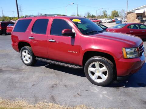 2007 Chevrolet Tahoe for sale at Big Boys Auto Sales in Russellville KY